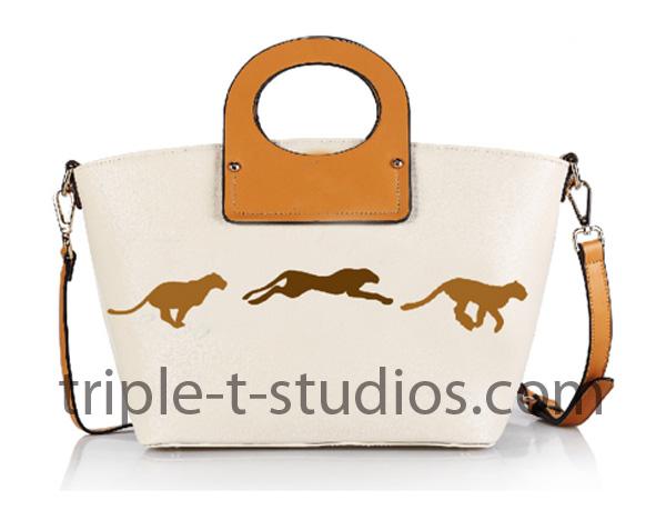 Triple T Studios Cheetah Bag