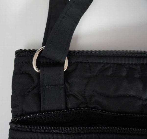 Triple Zip Cross-Body Bag 2