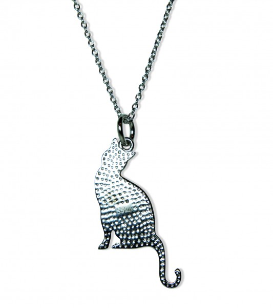 Triple T Studios Cat Essence Necklace back