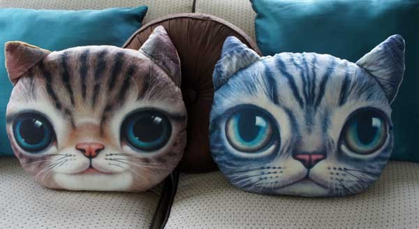 Cuddly Cat Pillow