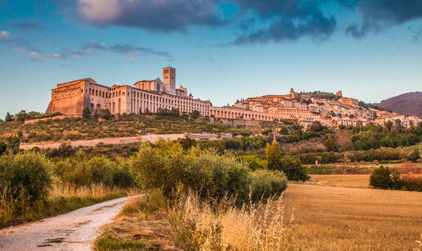 Historic town of Assisi