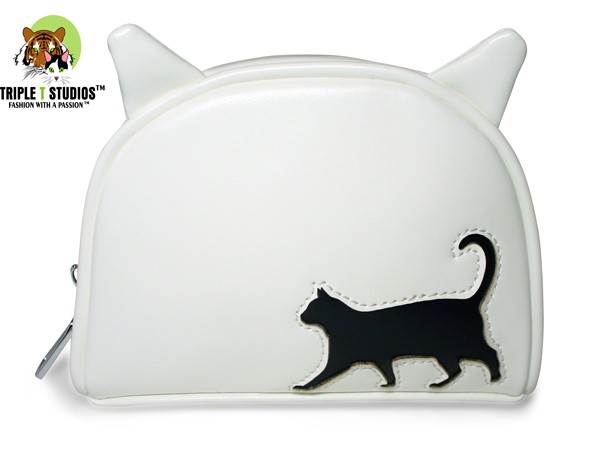 Cat Walk Cosmetic Bag