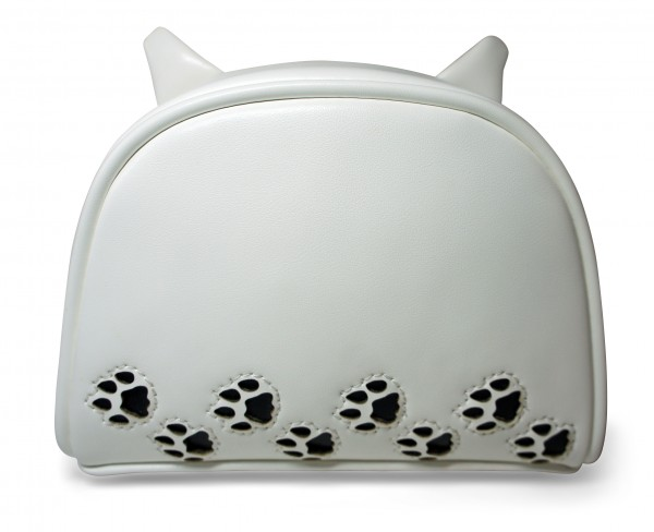 Cat Walk Cosmetic Bag Back