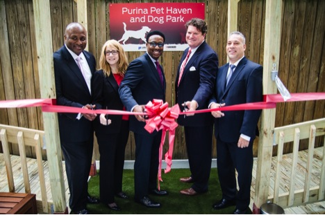 Ribbon Cutting Purina Pet Haven URI