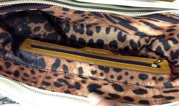 cheetah print lining