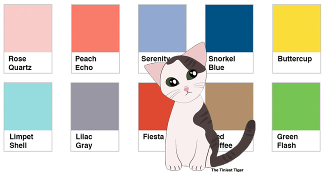 Annie with Pantone