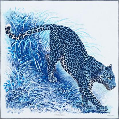 Hermes Panthera Pardus Scarf