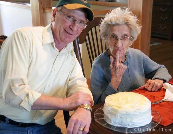 Paul and Tootie Birthday Cake