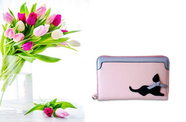 Pretty in Pink Cat Wallet