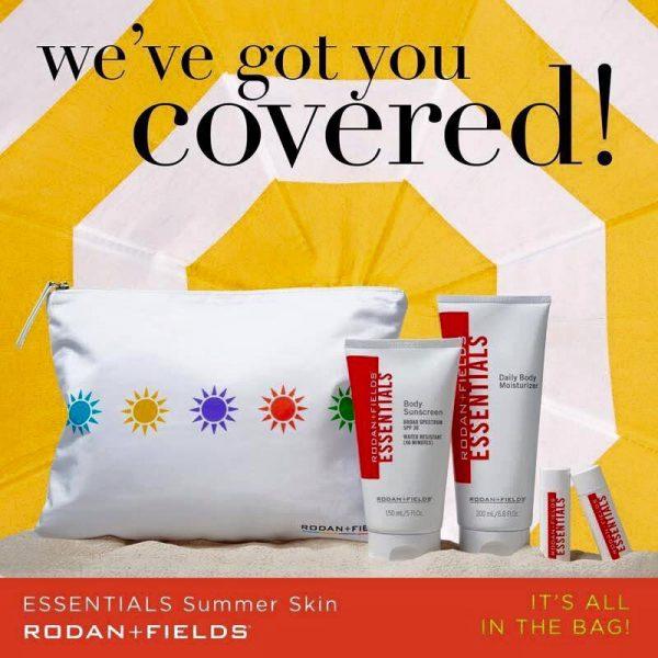 Rodan & Fields Essentials Summer Skin Image