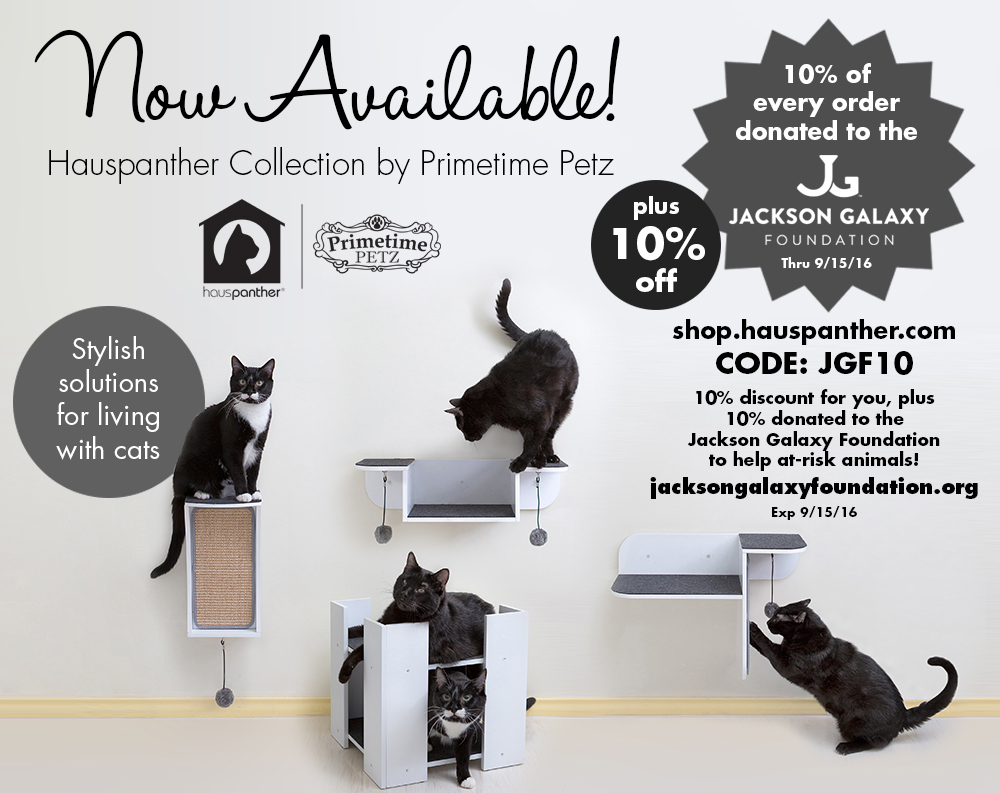 Hauspanther Collection Supports Jackson Galaxy Foundation
