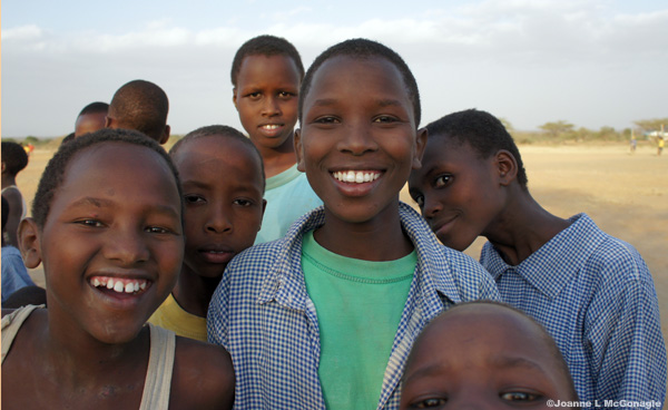 Wildlife Field Trip For Kenyan Children.