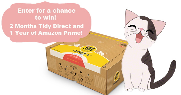 Win #TidyCatsDirect and Amazon Prime Membership