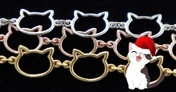 Cat Chain Link Necklace