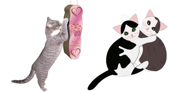 Lovebug Cat Scratcher Valentine Giveaway