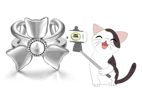 Cat Spinner Ring