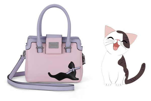 Mini Pretty in Pink Cat Handbag