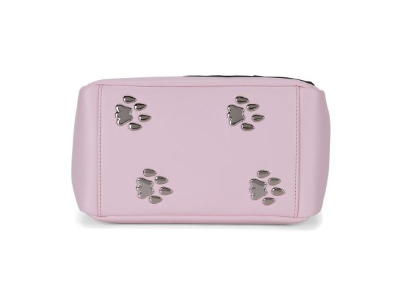 Mini Pink Cat Paw Metal Feet