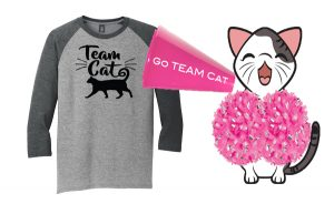 Team Cat Tee Triple t Studios