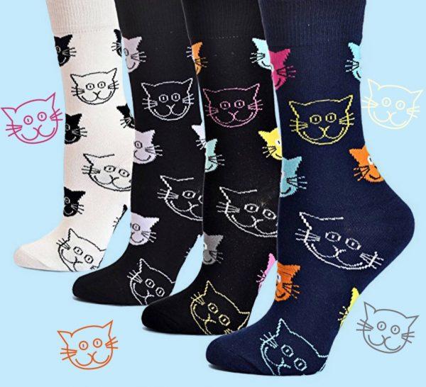 Cat Crew Socks Triple T Studios