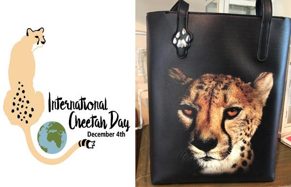 International Cheetah Day  Big Cat Tote Giveaway