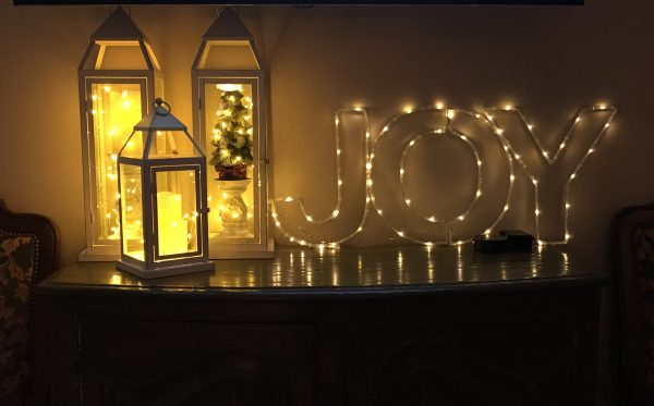 Joy with lights