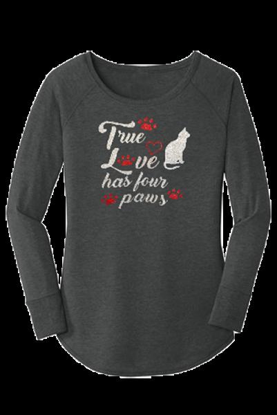 True Love has four paws T Shirt