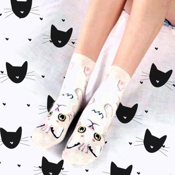Cat Hug Socks