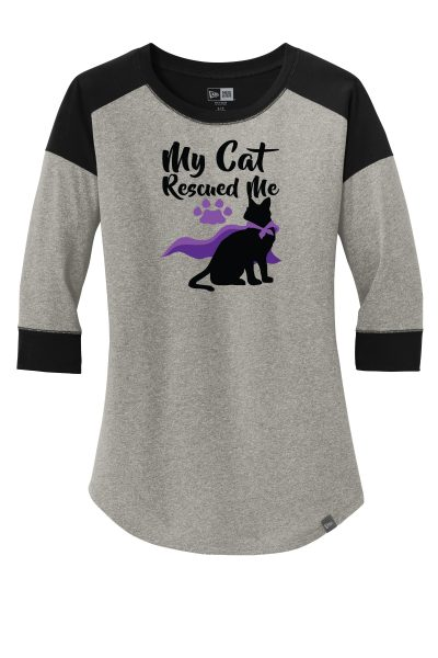 My Cat Rescued Me T-shirt