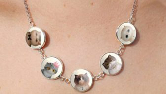 New! Cabochon Cat Necklace Giveaway