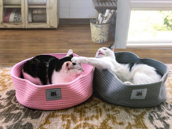 Cotton Rope Cat Bed