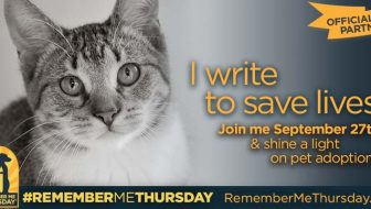Writing to Save Lives  #RememberMeThursday