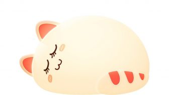 New Sleeping Cat Night Light Giveaway