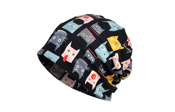 Colorful Cat Beanie