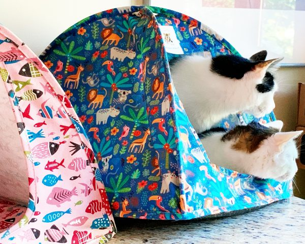 Wild Safari Cat Tent
