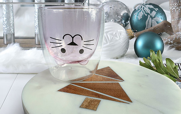 New! Cat Glass Giveaway