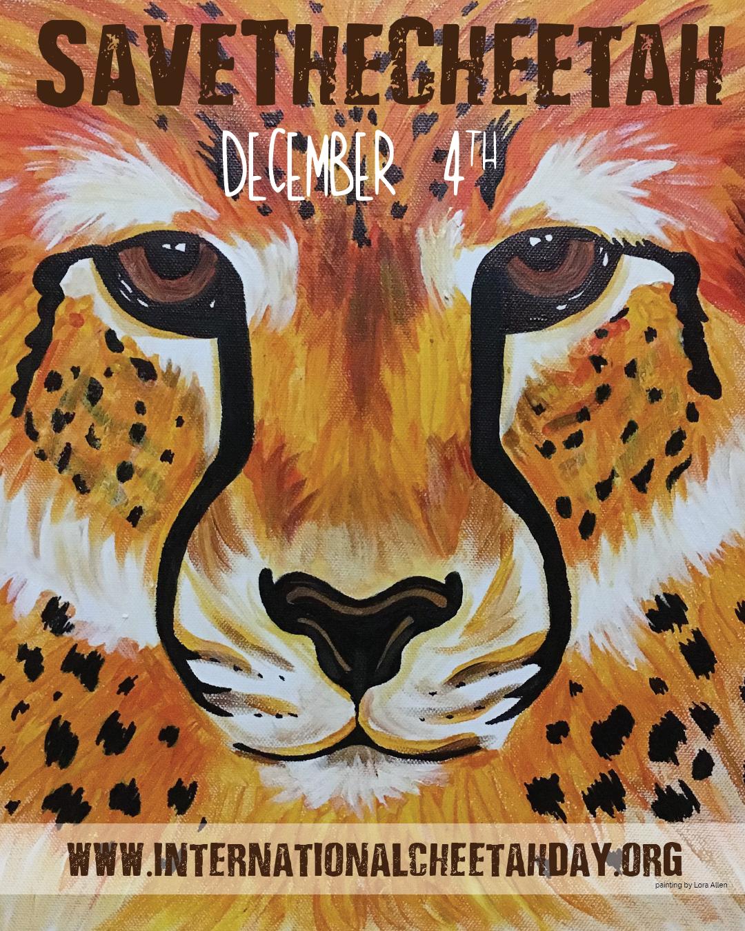 Save The Cheetah  #IntlCheetahDay