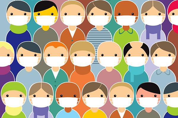 Epidemic image from deposit photos