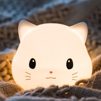 Cute Cat Night Light Giveaway
