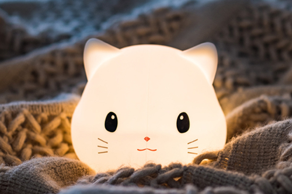 Cut Cat Night Light