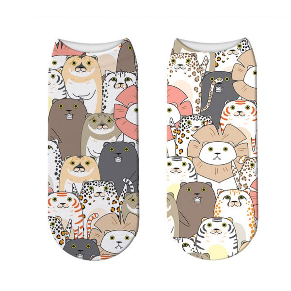 Summer Cat Footies
