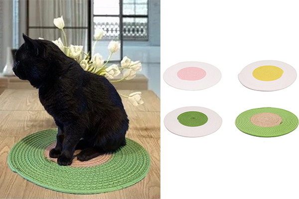 Cotton Rope Cat Place Mat