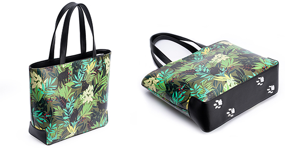 Jungle Panther Tote