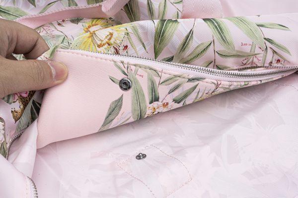 Zipper Pouch Leopard Design