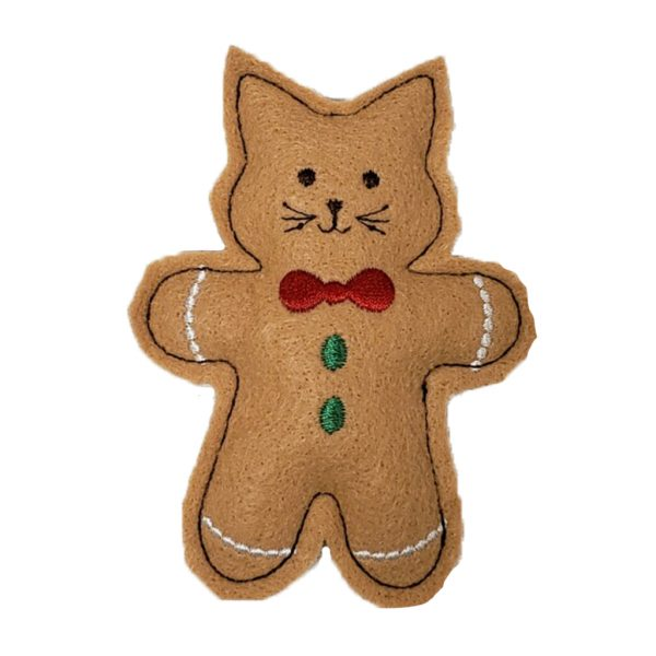 Gingerbread Cat Toy