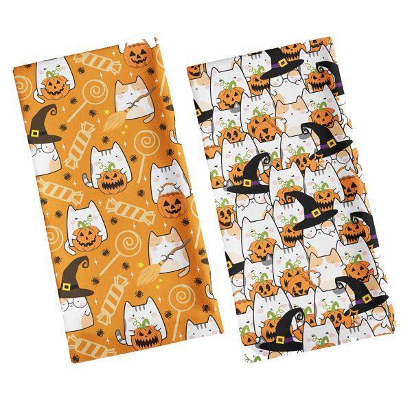 Halloween Cat Tea Towels