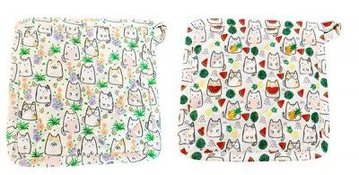 Spring Flower Cats and Watermelon Cats Hot Pads