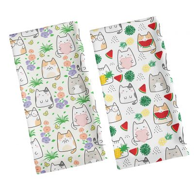 Spring and Summer Cat Tea Towel Giveaway