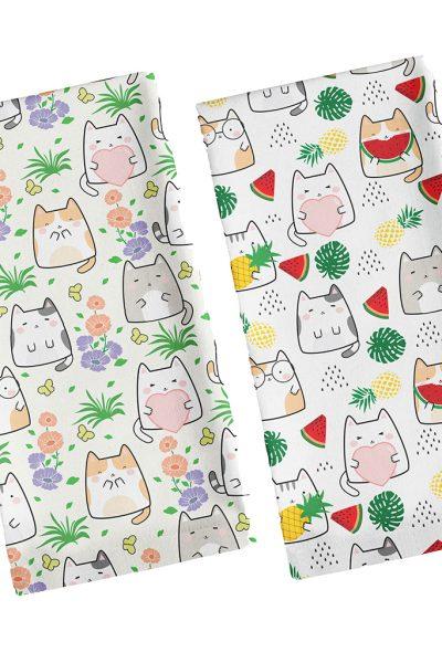 Cat Tea Towels
